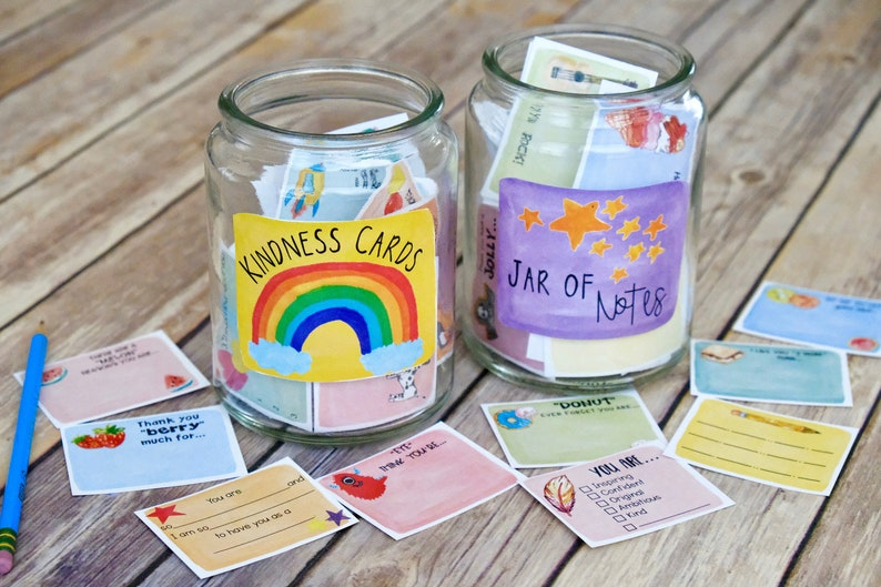 Printable Kindness Notes and Write-in Lunch Box Notes: 120 image 0