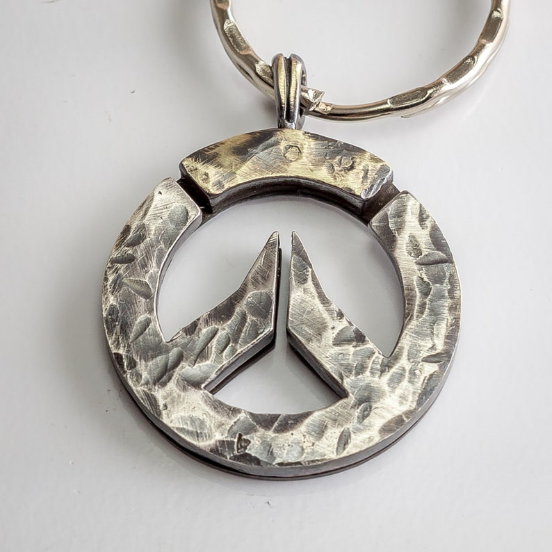Overwatch Logo Keychain Key Chain