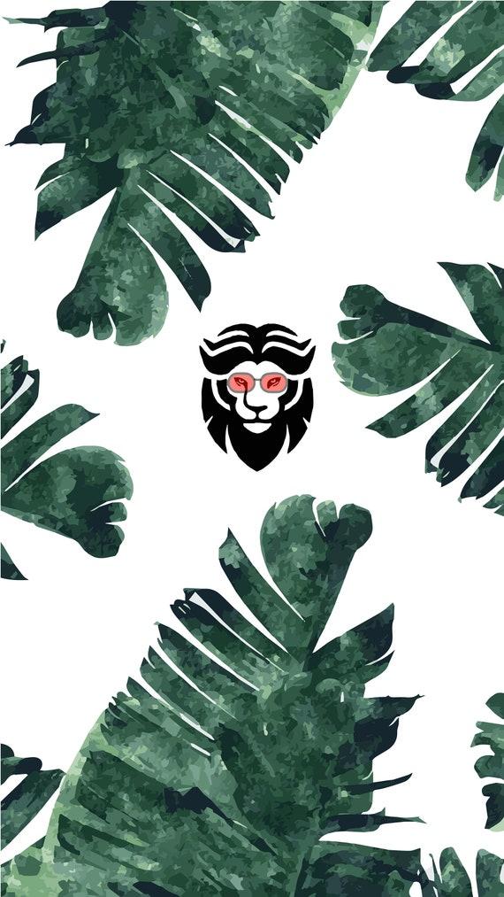 Phone Wallpaper Leaf Leo Lenses