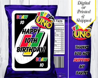 Custom Uno Cards Etsy