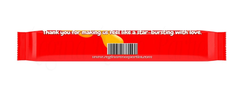 Starburst Candy Wrappers - Candy Wrappers - Candy Favors - Custom Wrappers  - Personalized Wrappers - Digital - Printed