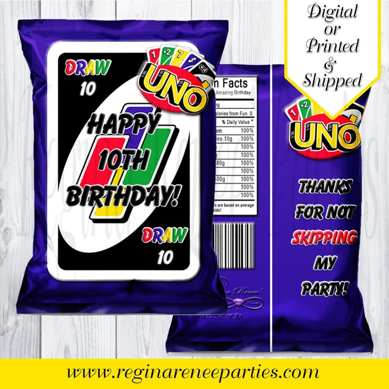 picture about Printable Uno Cards named UNO Tailor made Chip Luggage - UNO Birthday Occasion - UNO Playing cards - Uno Chip Baggage - Uno Like Baggage - Uno Celebration Printables - Uno Handle Luggage