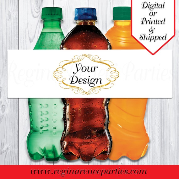 Printable Personalized Labels Printed Party Gifts Party Favors Custom Labels Digital Bubbles Bubble Bottle Labels