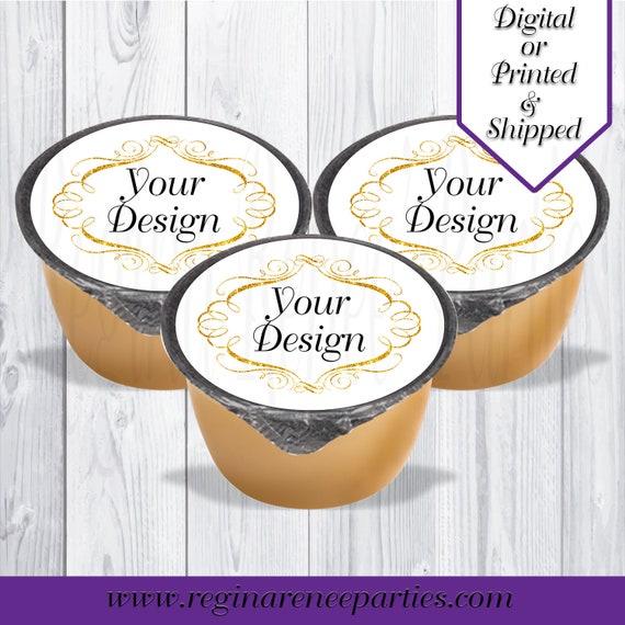 3/' Custom Labels Printed Ninja Turtles Custom Apple Sauce Labels Digital
