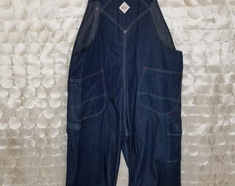 fc00821a54a Vintage Overalls By Cowden Denim 100% Cotton 1950 - 1960 Kmart americana