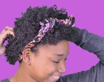 Patterned Headbad / Hair Tie