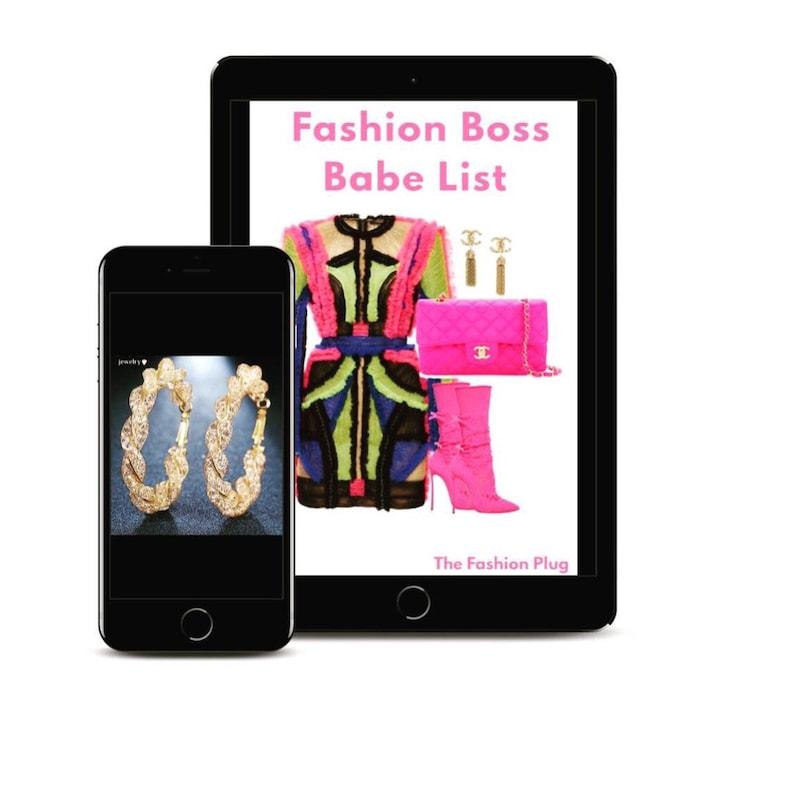 Fashion Boss Babe List