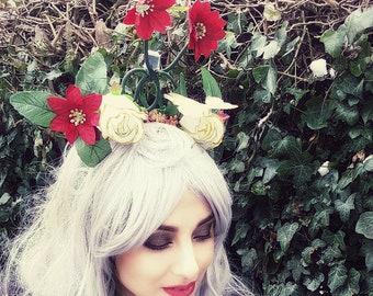 Ivy Butterfly headpiece