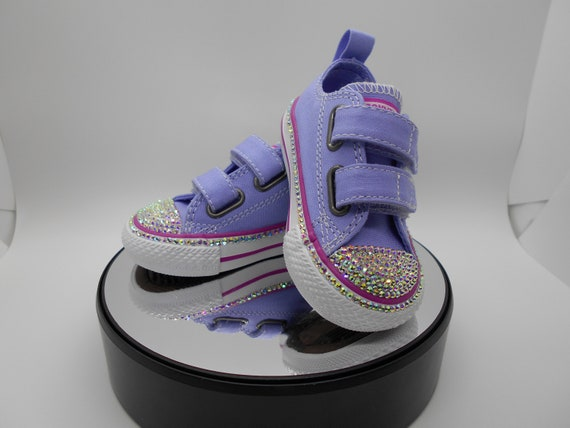 e2fdae876f1b Bedazzled Converse Chucks Girls Bling Converse Crystal