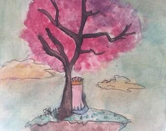 sakura tree island
