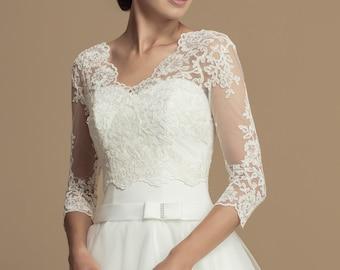 d0e58db1508875 Wedding Lace Bolero - Season 2020