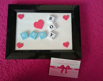 Luscious love letters frame