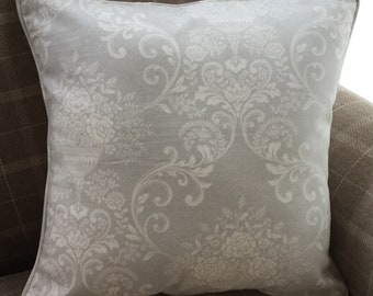 Handmade Almee Design Cushion with Piped Edging.