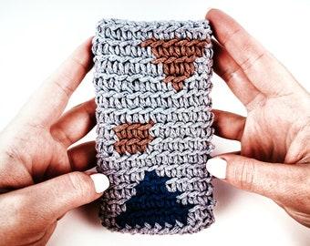 Crochet Sunglasses Case Pattern | Crochet Glasses Pouch Pattern | DIY Glasses Phone Case