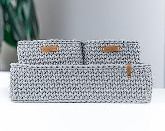 Crochet Basket Pattern | Decorative Crochet Storage Basket | Easy Crochet Pattern