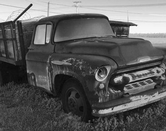 Old Truck on Frosty Morn