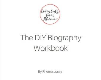 DIY Biography Workbook