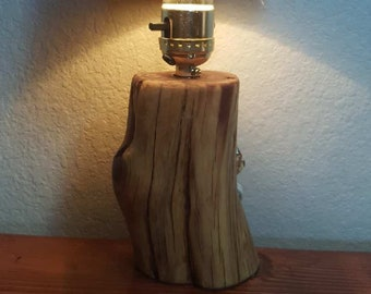 11 in. Juniper Wood Lamp
