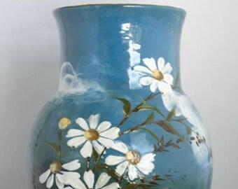 Thomas Jerome Wheatley vase 1880-1883 very early piece