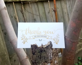 Mini Thank you Cards with Envelopes