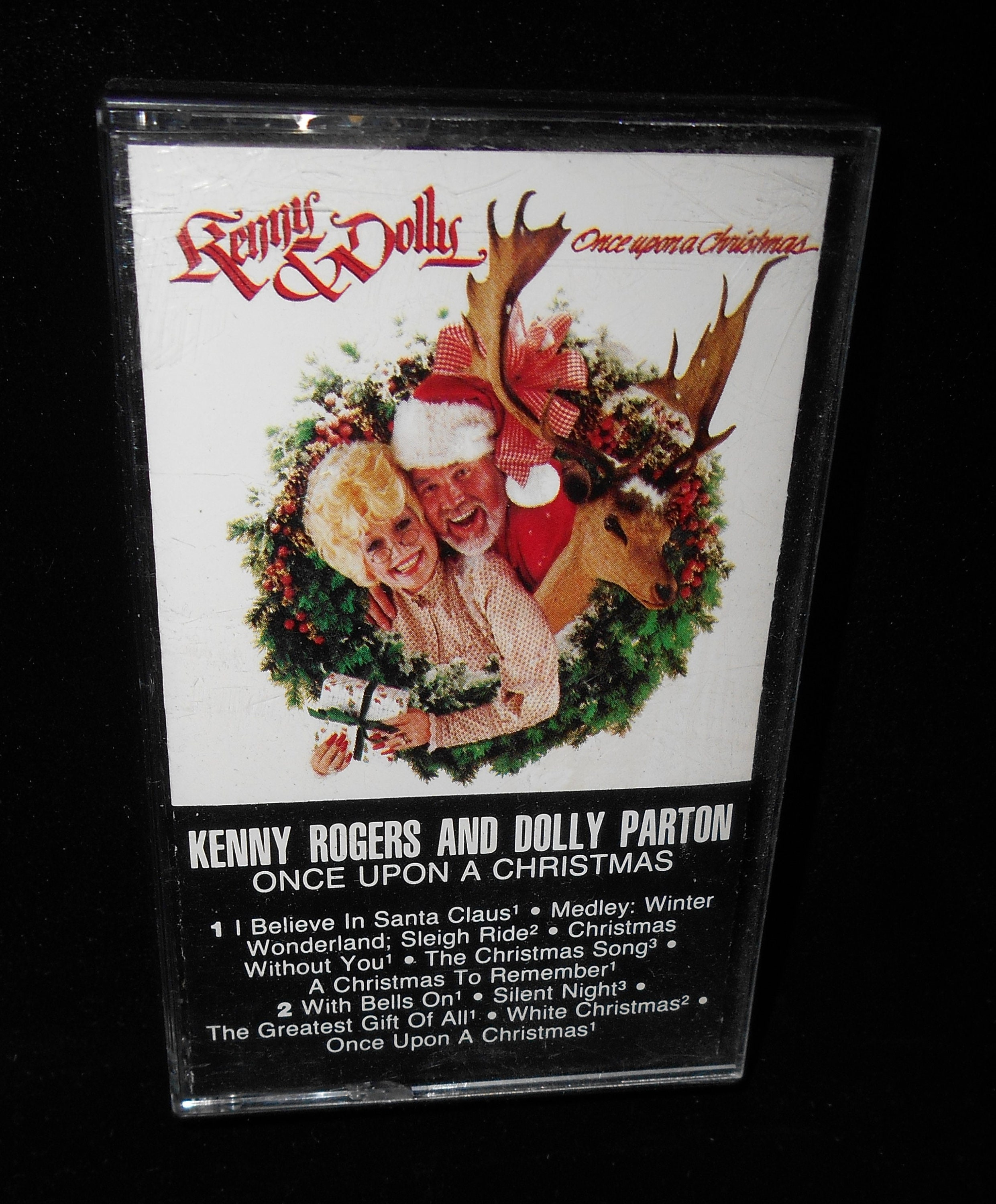 Dolly Parton Kenny Rogers Once Upon a Christmas by Cassette | Etsy