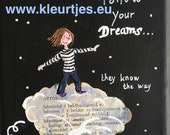Mini Canvas: Follow Your Dreams