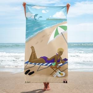 FIS Pretty Little Princess Microfiber Beach Towel