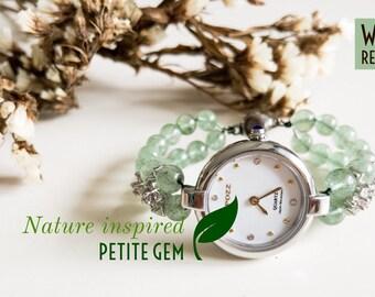 Green strawberry watch