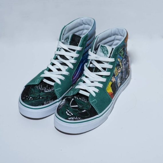ba3a577125e41 Items similar to Gorillaz Shoes on Etsy