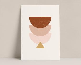 Geometric Gradient Print