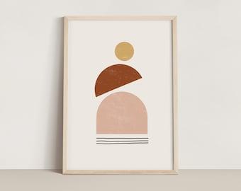 Geometric Shapes Print