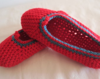 Soft and colorful slippers