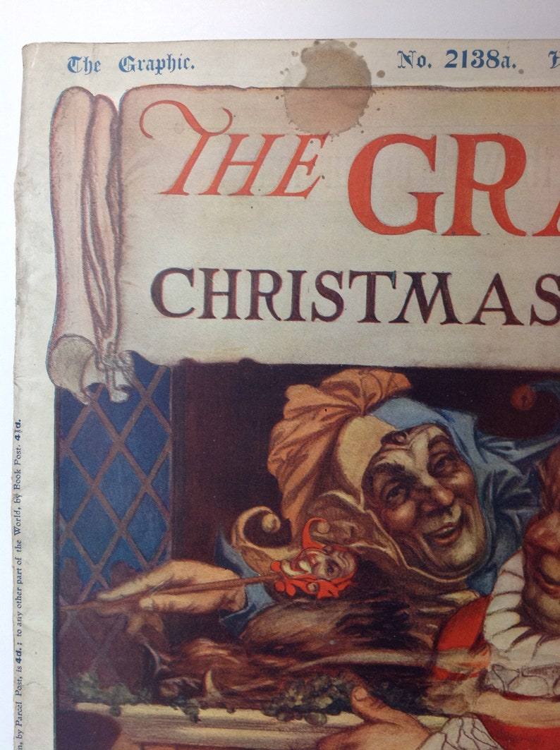 1910 THE GRAPHIC Christmas Number No 2138a November 21 1910