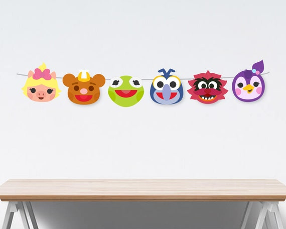 Muppet Babies Party Decorations, Inspired Disney Muppet