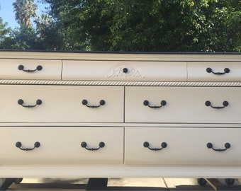 Just Sold**White Bombay Dresser/Console