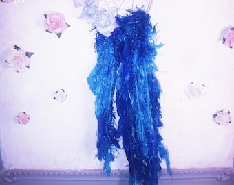 Blue Waterfall Dreamcatcher Wall Hanging Decor