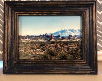 Arches National Park print w/ frame