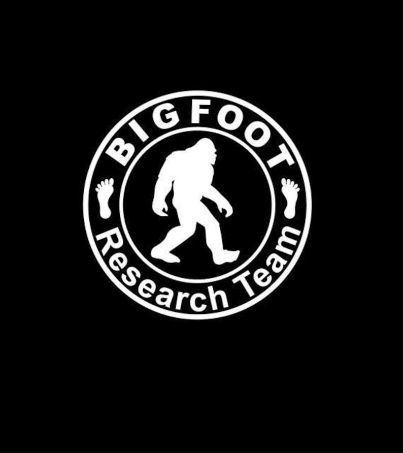 931424efe BigFoot Research Team Sasquatch Truck Car Toolbox Safe Gun | Etsy