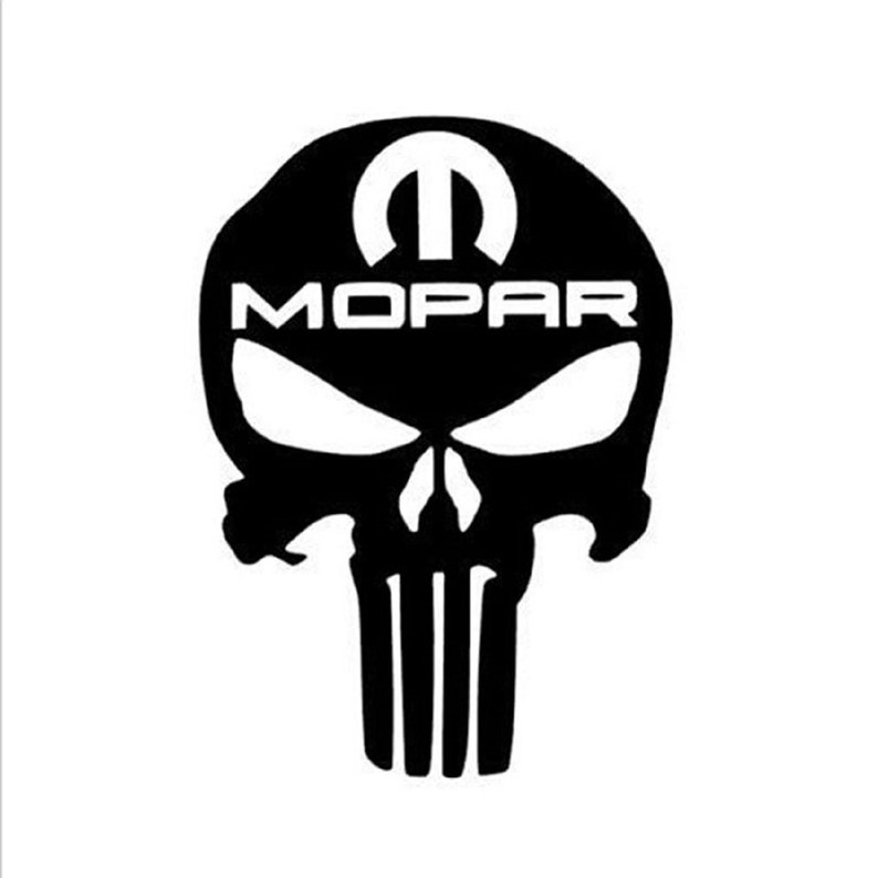 Mopar Punisher Skull Dodge Ram Truck Car Toolbox Safe Gun Case Etsy