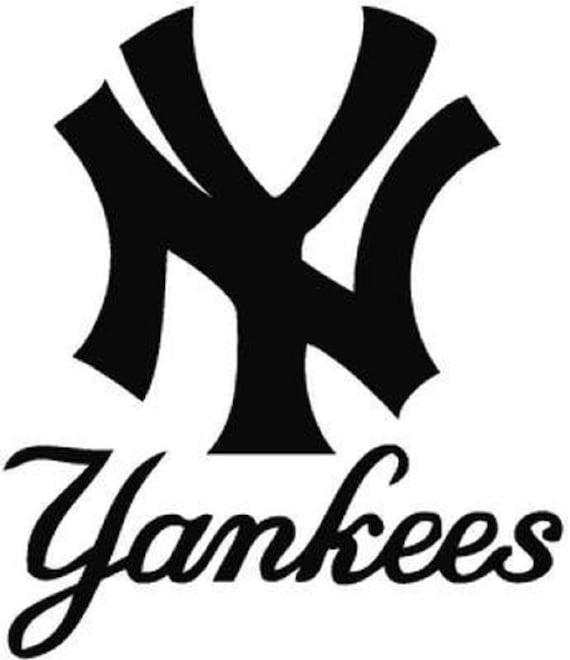 Vinyl Sticker Decal Baseball MLB Full Color CAD Cut Car New York Yankees