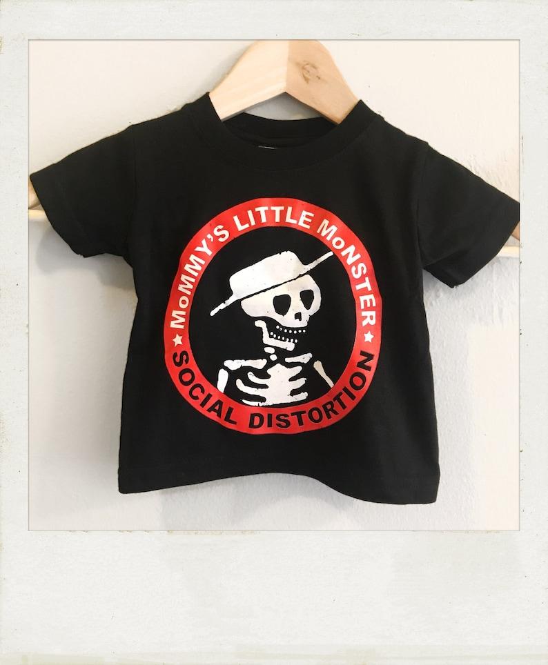 a58dd9871 Social Distortion Mommys Little Monster baby   kids t shirt
