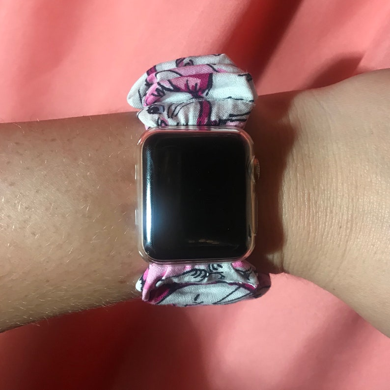 Apple Watch Scrunchie Band Coupon in Description image 0