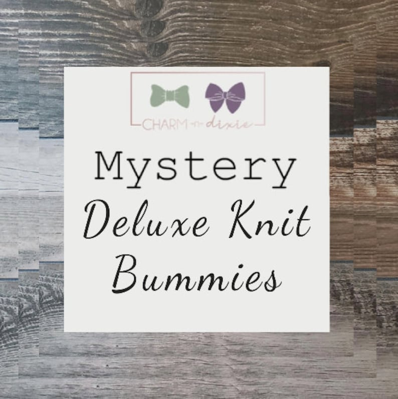 Mystery Deluxe Knit Printed Bummies