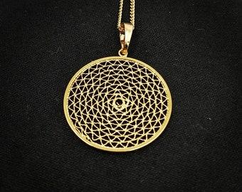 Spider Net Necklace