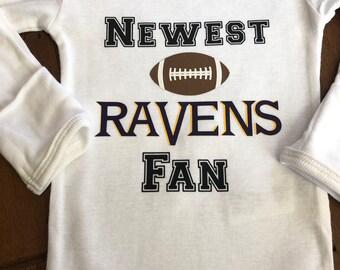 57e5cb32 Ravens baby | Etsy
