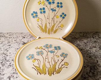 Set of 6 Hearthside Garden Festival Dinner Plates