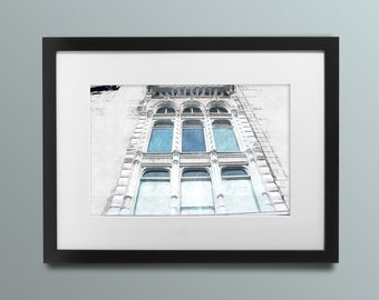 Victoria Hall, Hamilton ON - Acrylic and Pen, Fine Art Print, Giclee