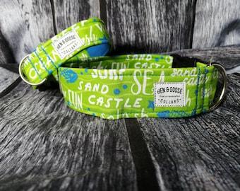 Green Bandana Dog /& Cat Collars /& Martingales /& Leashes
