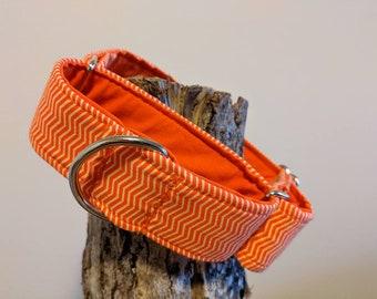 The Camryn - Orange Martingale Collar