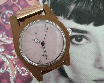 O'NOF handmade 3D watch - hand-made wristwatch - Lady model